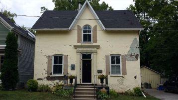 Before exterior restoration
